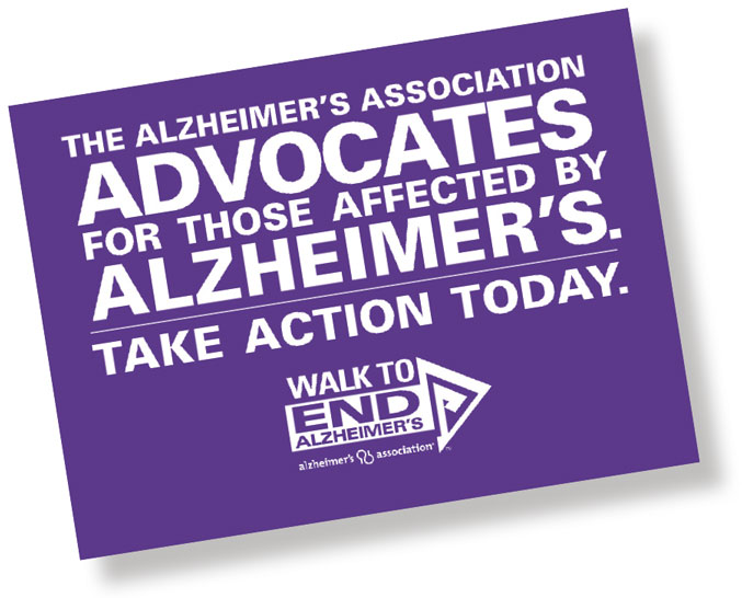 The Alzheimers Association Advocates - Generations Magazine - October - November 2011