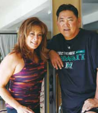 Percy Ihara and Diane Cadinha - Generations Magazine - February-March 2013
