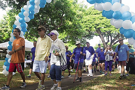 "In October, a large number of supporters join a walk for Parkinson's awareness at the HPA ""Moving Day"" event. To learn more email: movingday@parkinson.org."