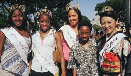 Nubian Pageant winners.