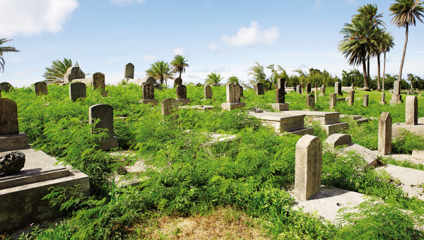 Papaloa Cemetary, resting place of some of the 8000+Kalaupapa residents
