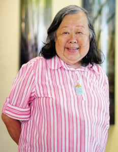 Ellen Yasuda, a 79-year-old resident of Waikiki will be signing up online for classes at University of Hawaii Manoa campus