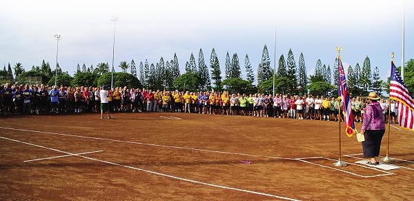 Kailua-Kona Welcomes 67 Softball Teams