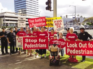 AARP supported the Honolulu City Council's 2012 Complete Streets ordinance, making it safer for all residents.