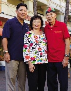 """Gong Hey Fat Choy!"" from Publisher Percy Ihara and Dr. and Mrs. Young"