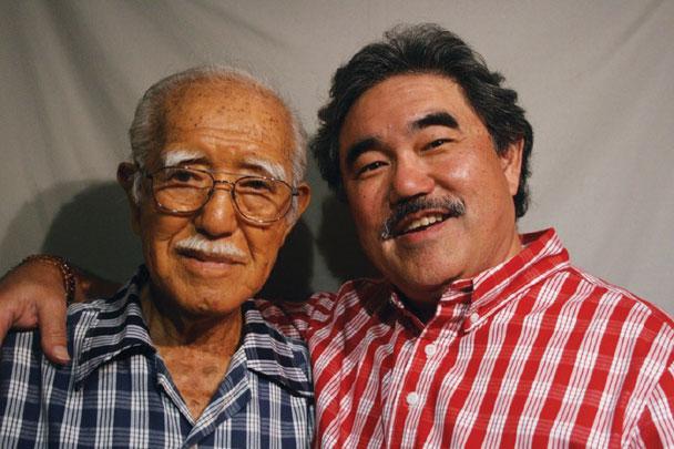 Goro Arakawa and son David