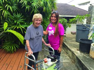 It's a gift to give... a smile, an encouraging word, a moment of your time. And the reward? The satisfaction of knowing you helped a kupuna in need.