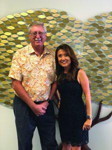 Photo of Ken Zeri and Tori Abe Carapehlo
