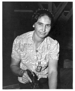 Bella Fernandez. Photo courtesy UH Archives