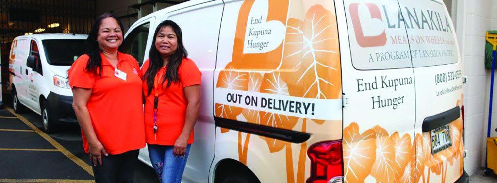 Photo of staff of Lanakila Meals on Wheels