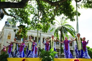 Aloha e komo mai. Come and join the festivities with the whole family. Make it an aloha day! Photos courtesy of Moanalua Gardens Foundation of the 2018 event.