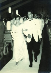 Nappy and Anona's wedding in 1965
