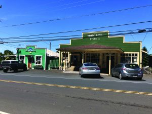 Grandma's Coffee House and Henry Fong Store.