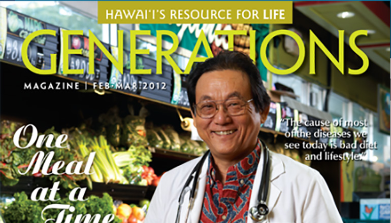 Generations Magazine - February - March 2012 - Feature Image