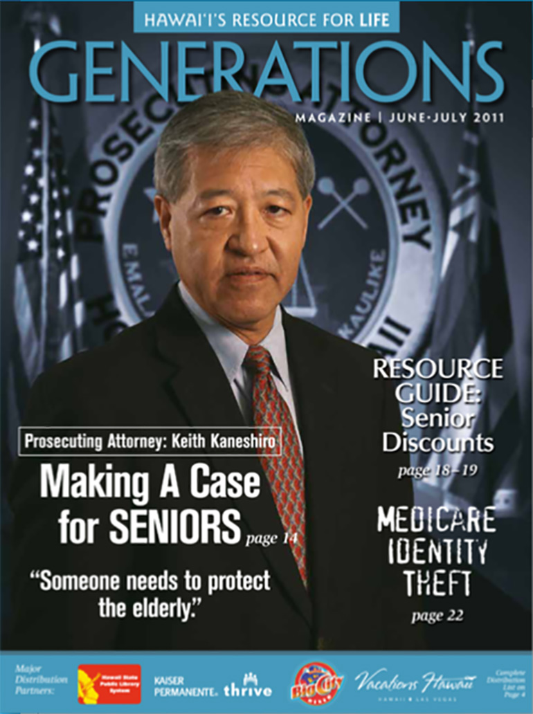 Generations Magazine - June - July 2011 - Cover Image