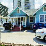 Little blue house of project dana photo