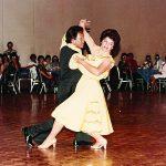 Benny and Faith at the Arthur Murray Showcase 1983, at Princess Kaiulani Hotel