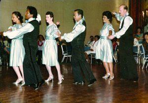Arthur Murray Showcase 1984, Waltz/Tango Formation, Princess Kaiulani Hotel.