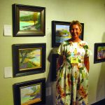 Ann Ahlbrecht volunteering at one of the annual MPAPI gallery events.