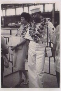 Mom and Dad in 1959 on their arrival to the states.
